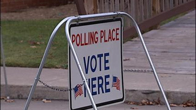 Oklahoma Voters Cast Ballots In Primary Election