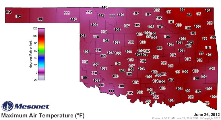 Early Season Heat Wave Continues
