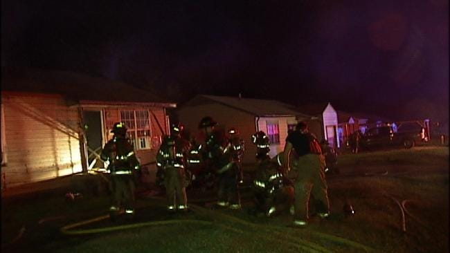 Electrical Problem Blamed For Tulsa House Fire
