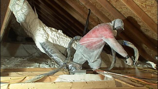 Foam Insulation Helps Homeowners Cut Energy Costs