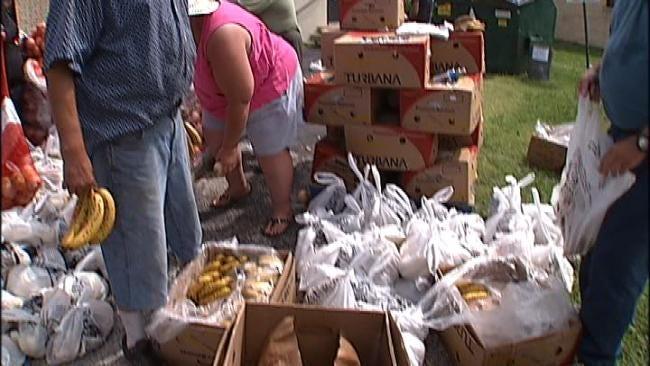 Food Banks, Farmers Markets Provide Fresh Food To Needy Families