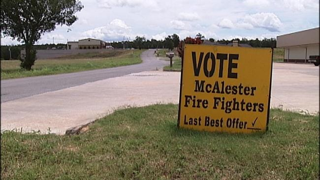 McAlester City Manager's, 3 City Councilor's Homes Hit By Vandals