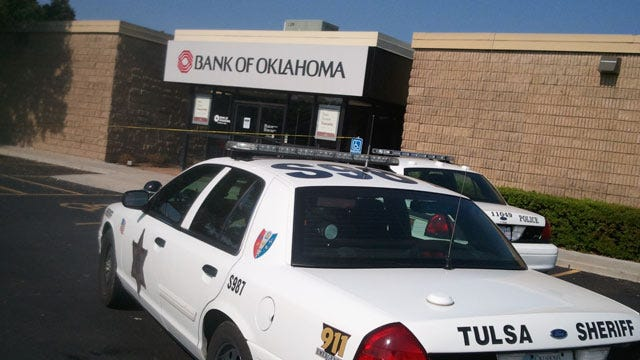 Police Arrest Two In West Tulsa Bank Robbery