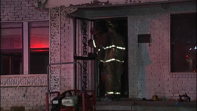 Fire At Vacant Tulsa House Under Investigation