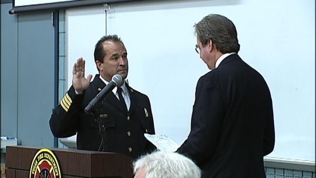 New Tulsa Fire Chief Sworn In