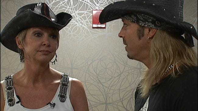 Oklahoma Woman Shares Brain Surgery Experience With Rocker Bret Michaels
