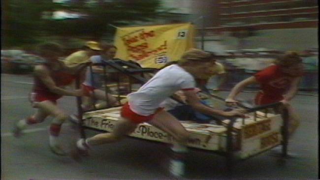 From The KOTV Vault: 1981 'Bedlam' 500 Races Through Downtown Tulsa