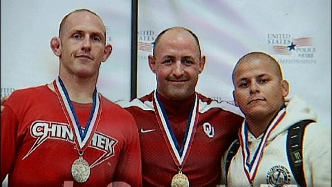 Tulsa Policeman Lives Out Dream By Winning Gold