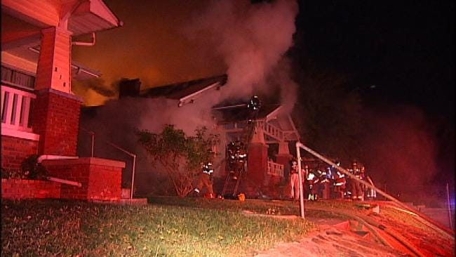 Remodeling Work Makes Tough Job For Tulsa Firefighters