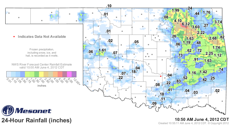 Record Rainfall for Tulsa