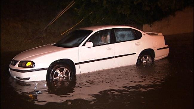 Thunderstorms Cause Flooding, Power Outages Across Tulsa County
