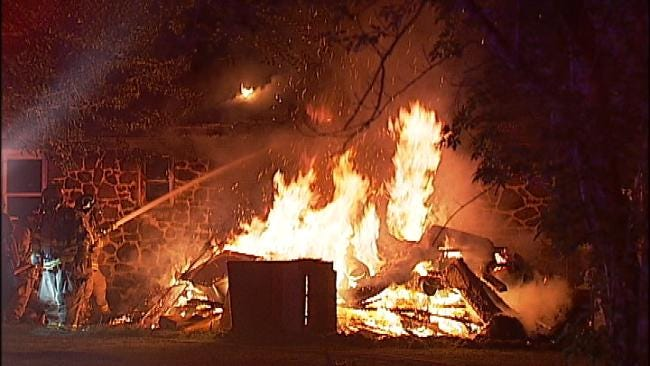 Arson Suspected In Rogers County House Fire