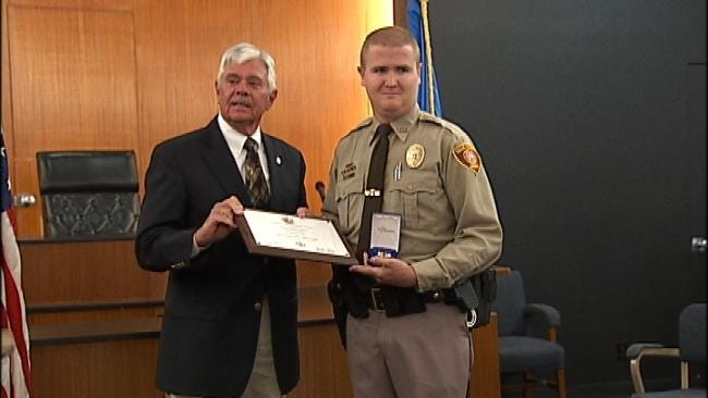 Sheriff's Office Honors Law Enforcement For Tulsa Courthouse Shooting Response