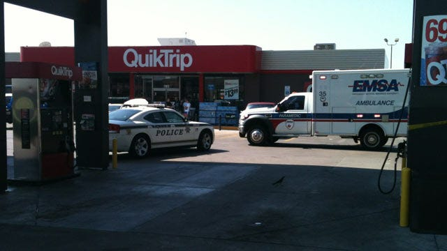 Customers Hide Behind Cars As Shooter Opens Fire At South Tulsa QuikTrip