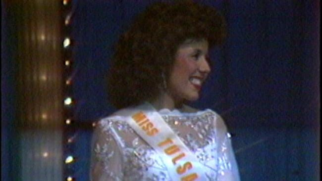From the KOTV Vault: A Familiar Face In 1982 Miss Oklahoma Pageant