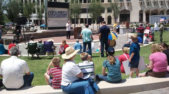 Tulsans Rally For Religious Freedom