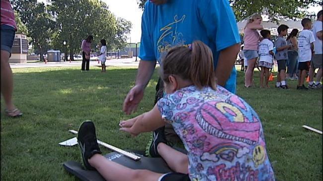 Tulsa Children Take The Mayor's Fitness Test Saturday