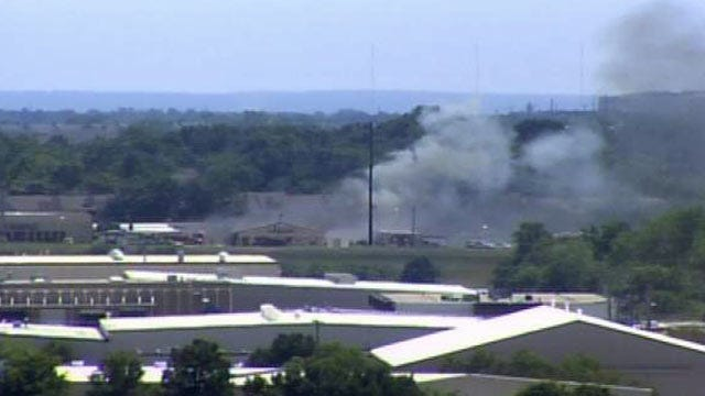Lots Of Smoke From East Tulsa Storage Facility Fire