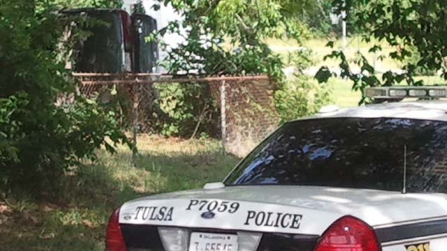 Car Flips During North Tulsa Police Chase, Requires Jaws Of Life