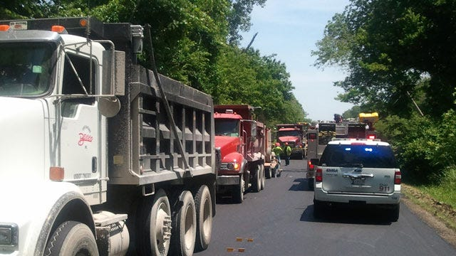 Tulsa Worker Shocked When Dump Truck Snags Power Line
