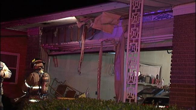 Arson Suspected In Torching Of Pickup Truck, SUV In West Tulsa