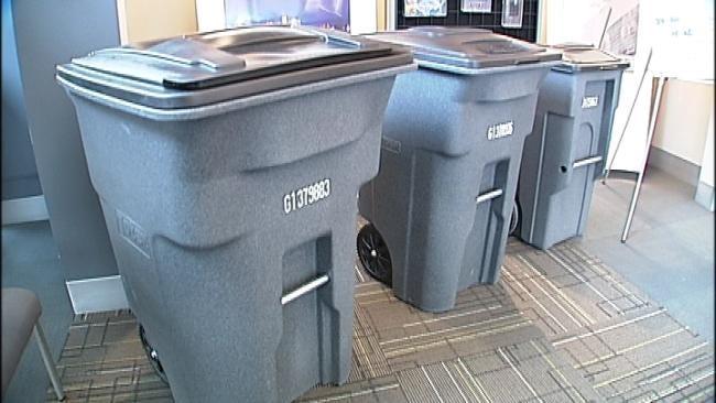 Tulsans Can See Sample Trash Carts At Some Libraries