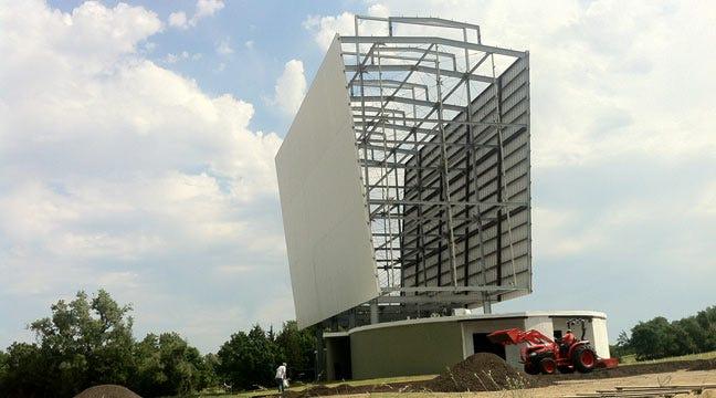 Vandals Damage Tulsa Admiral Twin Drive-In