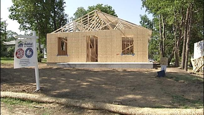KRMG Teams Up With Habitat For Humanity To Make Woman's Dream Come True