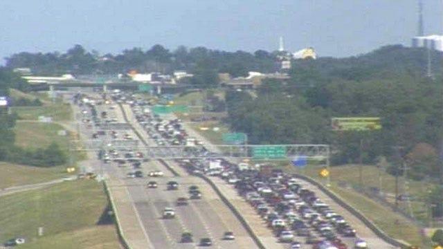 Broken Arrow Officer Injured In Rush-Hour Crash On BA Expressway