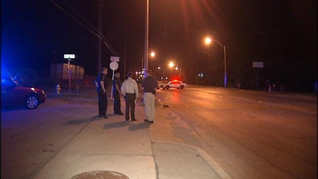 Teenager Shot In Chest Outside North Tulsa Bar