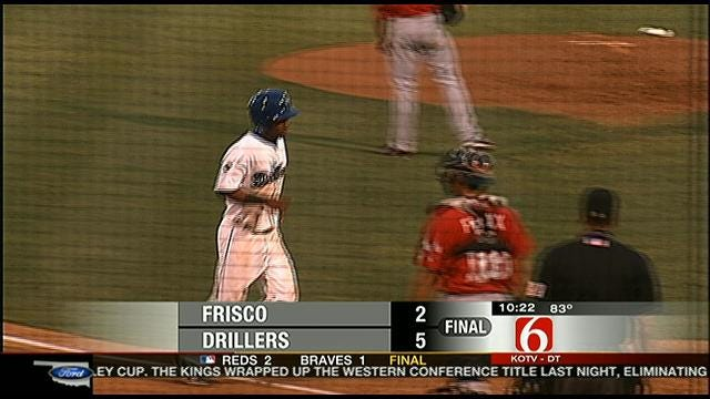 Drillers Open Series Against Frisco With 5-2 Win
