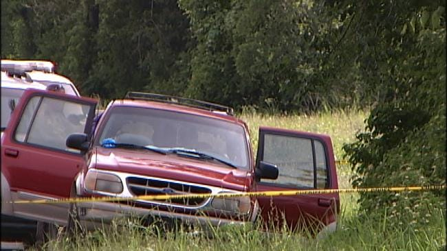 'Person Of Interest' In Woman's Death Found Hanging From Tree In Creek County