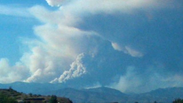 New Mexico Wildfire Smoke Blows Across Northeastern Oklahoma