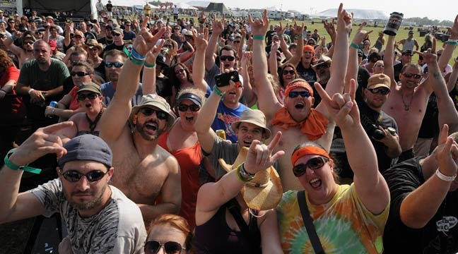 Rocklahoma Music Festival Continues Through Sunday