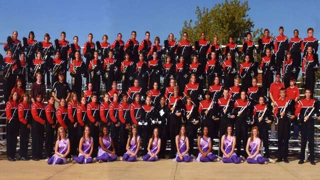 Skiatook High School Band Marching In National Memorial Day Parade