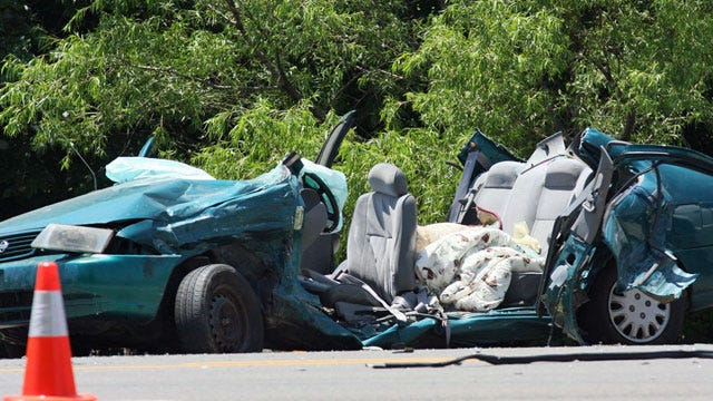 Driver Killed, Others Injured In 3-Car Collision In Broken Arrow