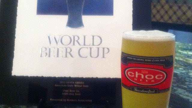 Pittsburg County-Brewed Beer Takes Silver Medal At World Beer Cup