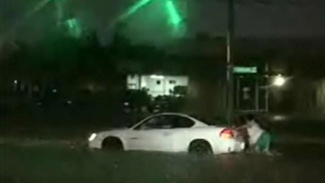 Thunderstorms Dump Much Needed Rain Across Northeastern Oklahoma