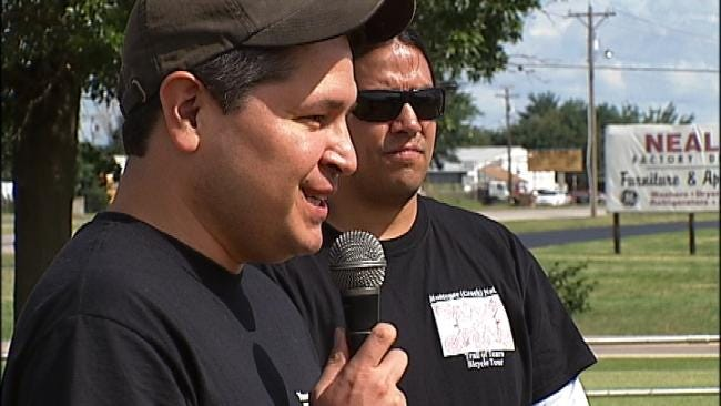 Two Men Set Off On Trail Of Tears To Raise Awareness