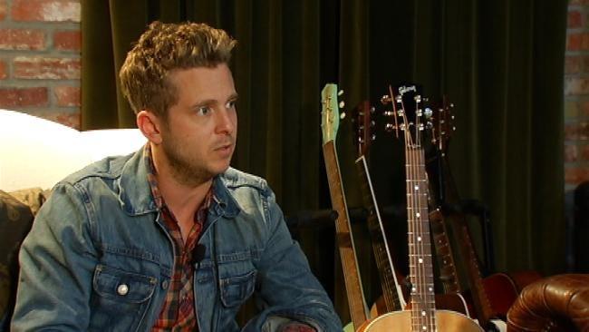 News On 6 Anchor Terry Hood Talks With Multi-Talented Ryan Tedder