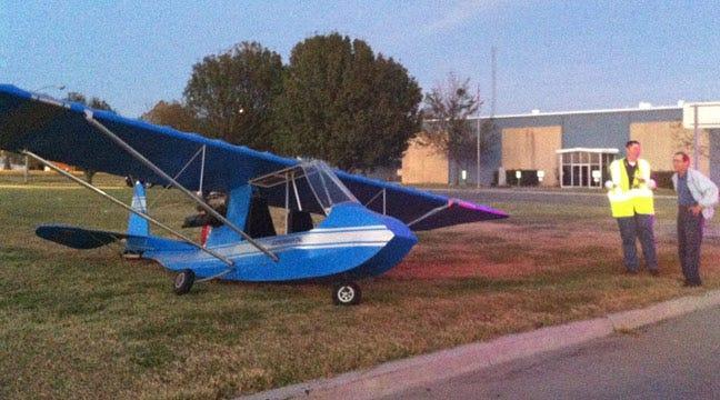 Small Plane Makes Emergency Landing On Highway In Muskogee