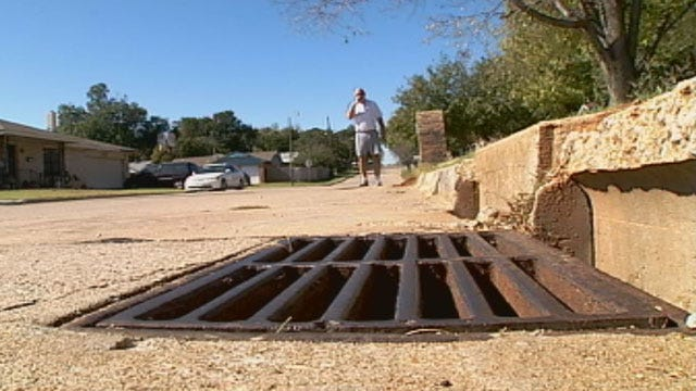 Thieves Swiping Storm Grates In Midwest City