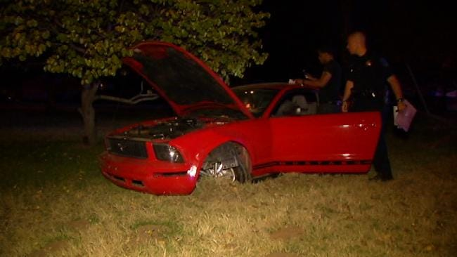Police: Two Ford Mustangs Collide In Tulsa Drag Race