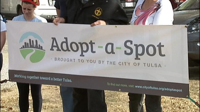 Tulsa Leaders Urge Participation In Adopt-A-Spot Program