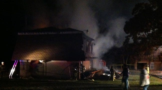 At Least Five Injured In Mannford Apartment Fire