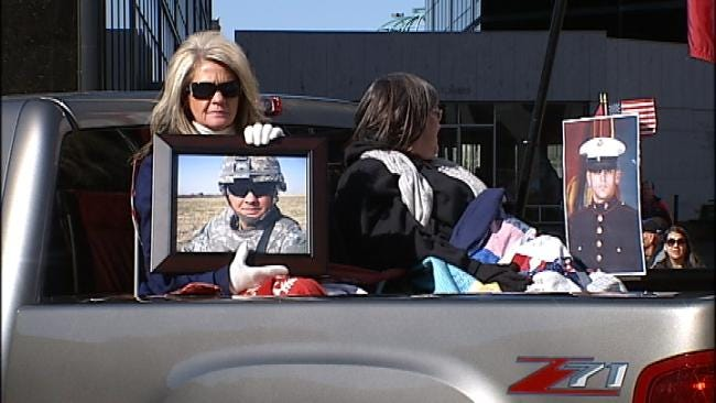 Thousands Turn Out For Tulsa's Annual Veterans Day Parade