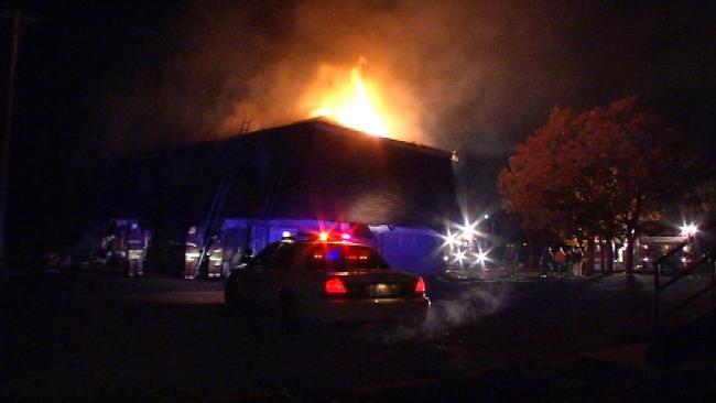 Neighbors Grateful For Bravery Of Mannford Man In Apartment Fire