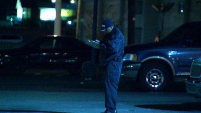 Police Investigate Stabbing At North Tulsa Bar