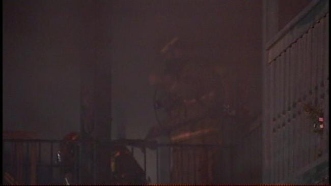 Several Injured In Fire At Midtown Tulsa Apartment Complex