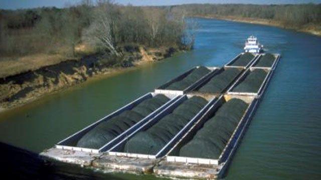 Maintenance Under Way On 3 McClellan-Kerr River Navigation System Locks